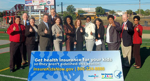 supporters of health insurance for children